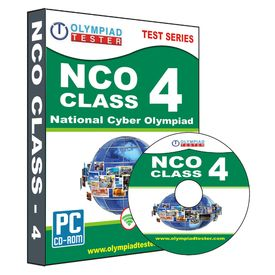 Class 4- NCO Olympiad preparation- Practice test series (CD)