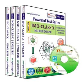 Class 10- NSO NCO IEO IMO Combo CD- pack for Olympiad preparation