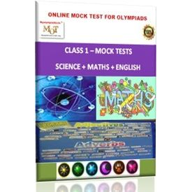 Class 1, Online Mock tests, Science+ Math+ English