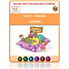 Class 1- Making words- Online test for English Olympiad