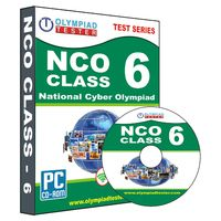 Class 6- NCO Olympiad preparation- Practice test series (CD)