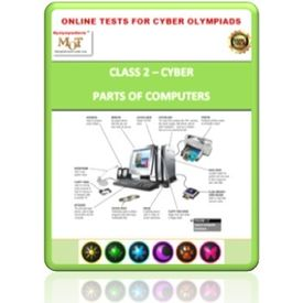 Class 2, Parts of Computers, Online test for Cyber Olympiad