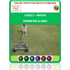 Class 5, Perimeter & Area, Online test for Math Olympiad