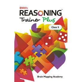 Class 5- Reasoning trainer plus (with solution book) , Mental Ability