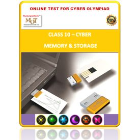 Class 10, Memory & Storage, Online test for Cyber Olympiad