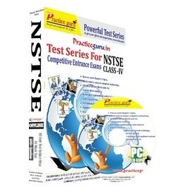 Class 4- NSTSE Olympiad preparation- (1 CD Pack)