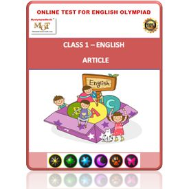 Class 1- Article- Online test for English Olympiad