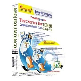 Class 7- IEO NSO NCO IMO test series (CD Pack)