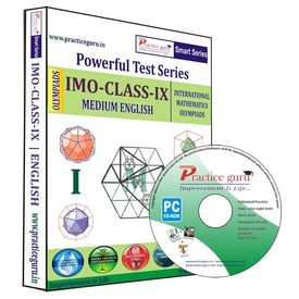 Class 9- IMO Olympiad preparation- Powerful test series (CD)