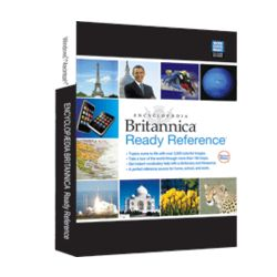 Encyclopaedia Britannica 2012 Ready Reference CD ROM