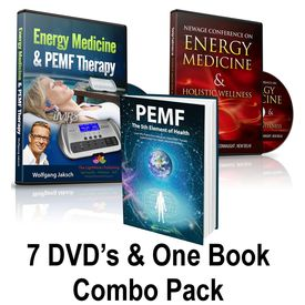 Energy Medicine Seminars On DVD (7 DVD Set) &  PEMF- The 5th Element Of Health  Book Combo Pack