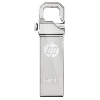 HP V-250 Pen Drive,  silver, 64gb