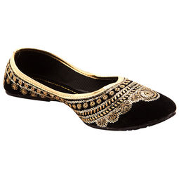 Rajasthani Gold Bellies,  gold, 7