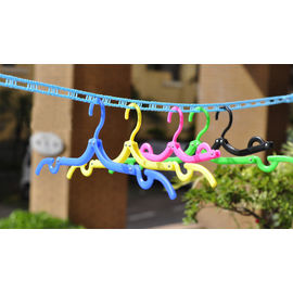 5 Meter Anti Slip Windproof Clothesline Dry Rope With Barrier Ladder Structure