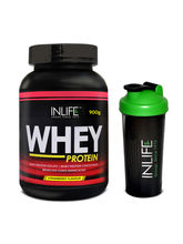 INLIFE Whey Protein Powder 2 Lbs (Strawberry Flavo...