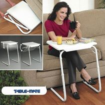 TABLE MATE   II, Folding portable table for study, Dinner, Laptop