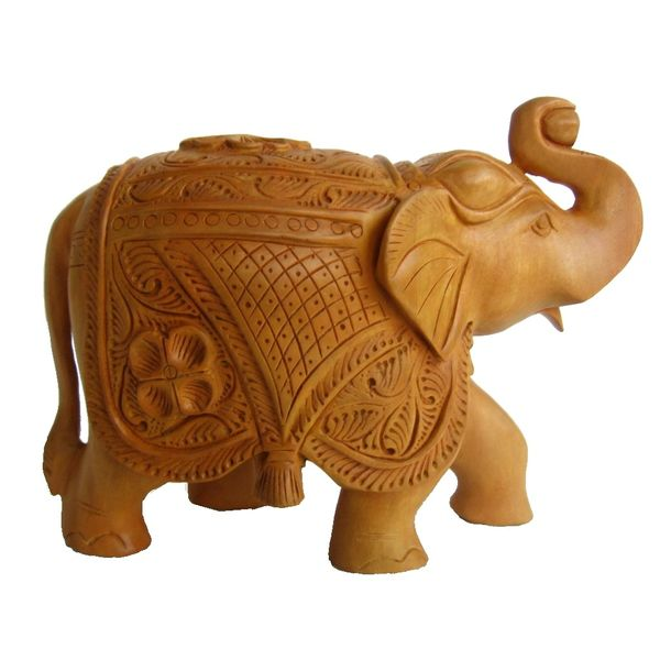 Wooden Elephants Carved Online Shopping India Buy Handicrafts Gifts Crafts Home Decor Decorative Indian Handicrafts Paintings