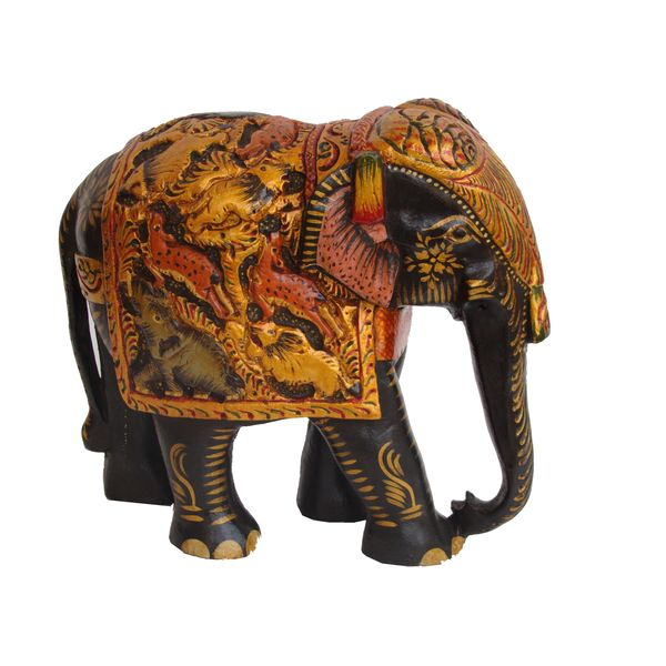 Home Decor Handicrafts Wooden Elephant Online