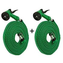 Buy 1 Get 1 Free   Water Spray Gun 10 Meter Hose Pipe