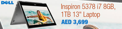 Dell Inspiron 5378 i7 8GB, 1TB 13