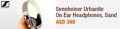 Sennheiser Urbanite On-Ear Headphones, Sand