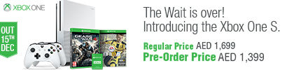 Pre-Order Xbox One S