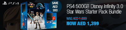 PS4 500GB ConsoleStar Wars Starter Pack Bundle