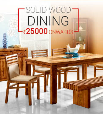 Solid wood dining