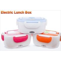 Portable Electric Heatable Lunch Box Tiffin Office Use
