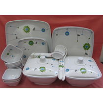 Dinner set Melamine 37 Pcs, Kitchen Dining Dinnerware, Dinner set for Dining, Gift - 3803323-49488394521