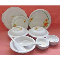 Dinner set Melamine 32 Pcs, Kitchen Dining Dinnerware, Dinner set for Dining, Gift