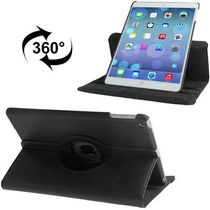 BMS 360 Degree Rotating Leather Smart Cover Case Stand For Apple IPad Air Black