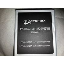 Battery For A115/A116/A210 Micromax 2000mAh