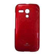 Eclipse Goospery Jelly Case For Motorola Moto G   Red