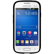 Amzer 96743 Pudding TPU Case   Black For Samsung Galaxy Star Pro GT S7262