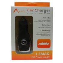 HONDA USB Car Charger with Car Logo for all Smart Phones+ USB Cable