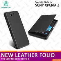 XPERIA Z High Quality Diary Flip Flap Leather Case Cover For SONY XPERIA Z Black