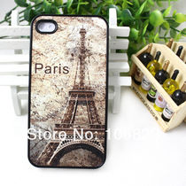 Paris Tower Design Hard Case Cover For iPhone 4 4S