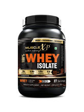 MuscleXP 100% Whey Isolate - 1Kg (2.2 Lbs) , Doubl...