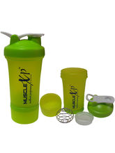 MuscleXP Advanced Stak Protein Shaker With Steel B...