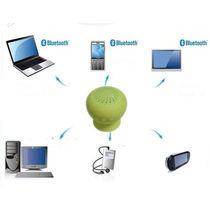 Mini Bluetooth Speaker With Mic For IPhone IPad Tablet Mobiles Rubber Body_ T4S5