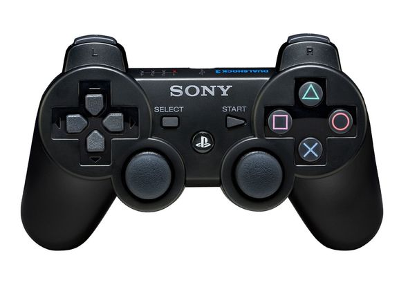 Sony PlayStation PS3 Dual Shock 3 Controller Black