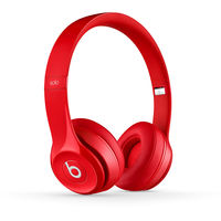 Beats by Dr. Dre Solo2 Wireless Headphones, Red
