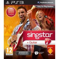 SingStar Guitar PlayStation Eye Enhanced for PS3