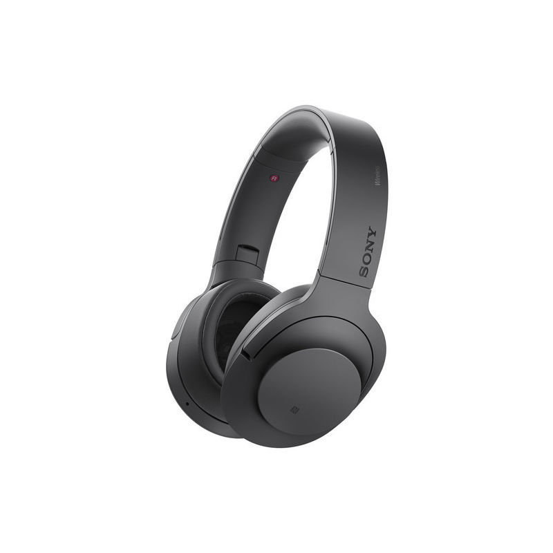 Sony Noise Cancellation Bluetooth Headphones, Charcoal Black
