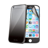 Celly SUNNY60001 Cover with screen protector for apple iphone 6, Black