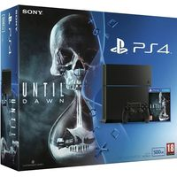 Sony PS4 500GB Black Bundle with Until Dawn