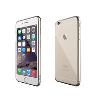 Aiino Crystal Case with Glass Screen Protector for iPhone 7, Clear