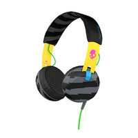 Skullcandy Grind On-Ear with Tap TechLocals Headphone, Yellow-Black