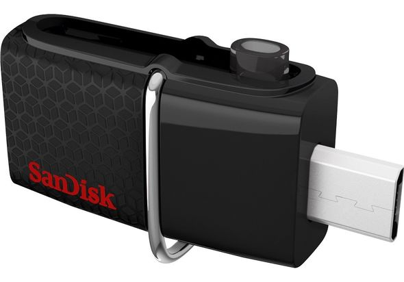 SanDisk Ultra Dual 16GB Micro USB/USB 3.0 Type A Flash Drive